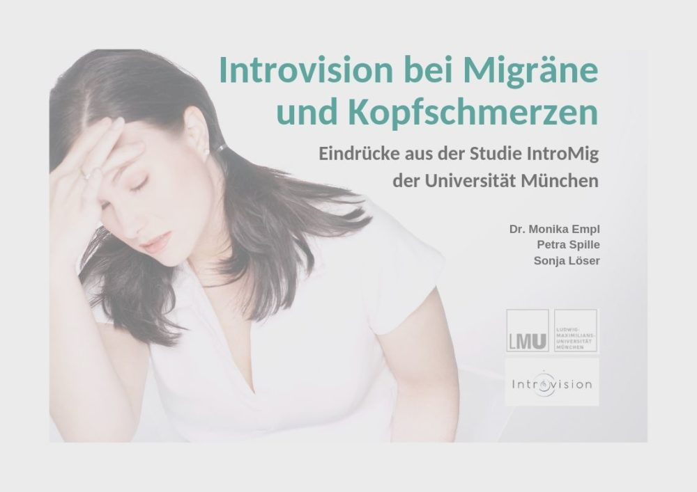 Studie zu Introvision bei Migräne und Kopfschmerzen